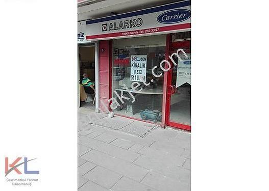 Ankara Sıhhıye Strazburg Cad.de 40 M2 Kiralık Dükkan