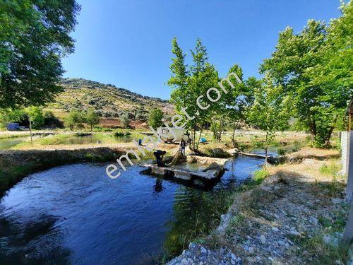 Akçay kenarı Arapapıştı kanyonuna 4 km yatırımlık balık çiftliği.