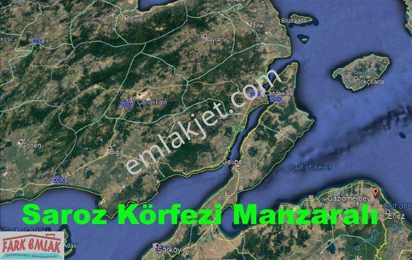 Edirne/ENEZ - Saroz; 3000.m², Turizm İmarlı Kupon ARAZİ