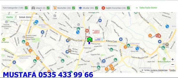 Sahibinden İSLAMBEY Mah. KIBRIS CAD arkası.GÜRÇINAR sokakTel.0535.433.99.66