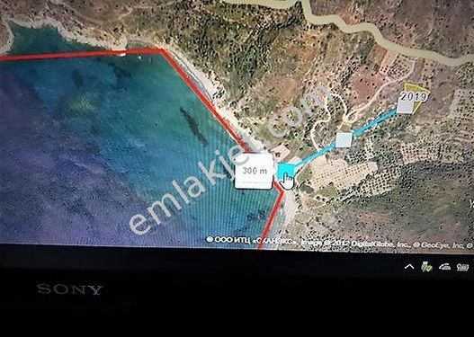 Acil ihtiyaçtan Datça da Denize yakın 2129 m2 Müstakil Tapulu