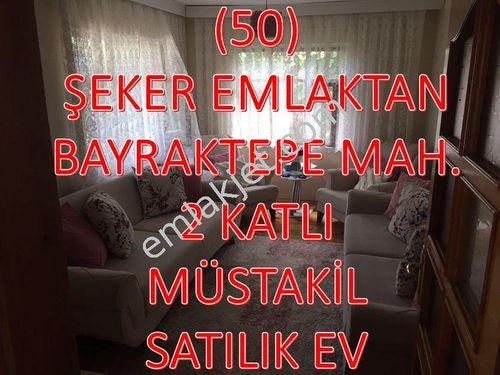 50-ŞEKER EMLAKTAN SATILIK 2 KATLI MÜSTAKİL EV