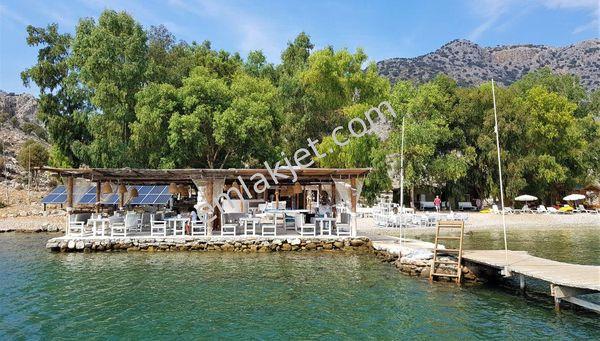Marmaris Bozukkale satılık restoran yat kulübü marina. Muhteşem