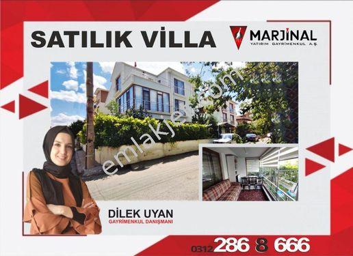 Sincan Akşemsettin Mah 7+1 440m2 masrafsız satılık lüks villa