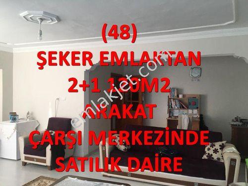 48-ŞEKER EMLAKTAN 2+1-120m2² SATILIK DAİRE
