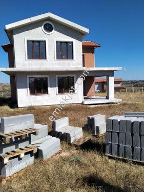 Çerkezköy Veliköyde 1500m2 arsada satılık yazlık dubleks villa
