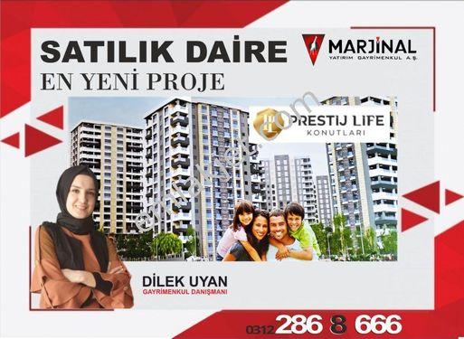 Prestij Life Kon. 2021 teslimatı 2+1 14. katta satılık daire