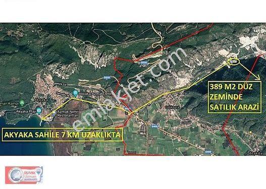 Ula Gökova'da Doğayla İç İçe 389 m2 Satılık Arazi