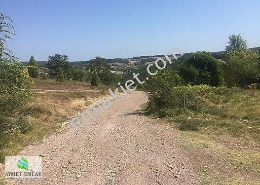 Aymet emlak tan şile değirmençayırı köyün de satılık arazi