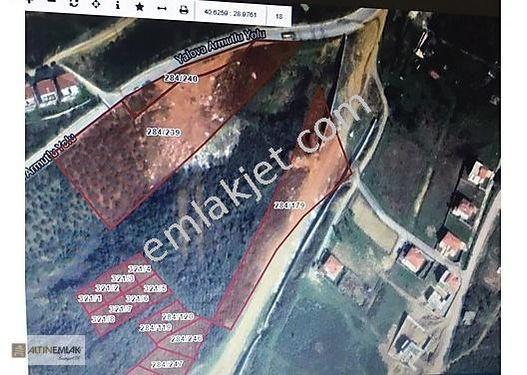 Çınarcık Esenköy' de Villa Arsaları Tamamı Veya Parsel Parsel