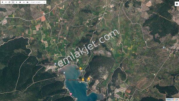 MİLAS KAZIKLI'DA 1250 m² DENİZE İKİNCİ PARSEL TARLA