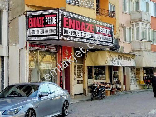 Bursa Mustafakemalpaşa Çarşı Merkezde Kiracılı Satılık Dükkan