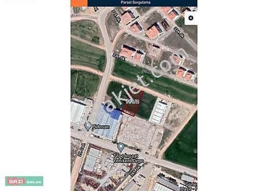 YENİKENTTE 2.344 m2 SANAYİ ARSASI ACİL SATILIK