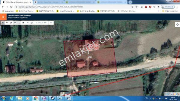 Sahibinden Çatalca  kaleiçi  5000m2 içinde 900m2 Natamam müştemilatlı villa