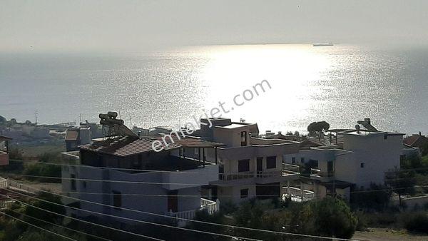 Zermattdan Deniz Manzaralı Imarli 480 M2 Villa Arsasi
