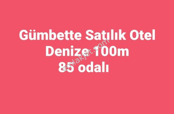 GUMBETTE DENİZE 100M 82 ODALI 11 DÜKKAN