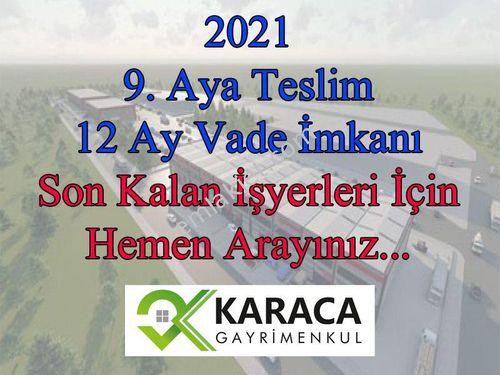 KARACA GAYRİMENKUL den Akbay Sanayi Sitesinde SATILIK Fabrika