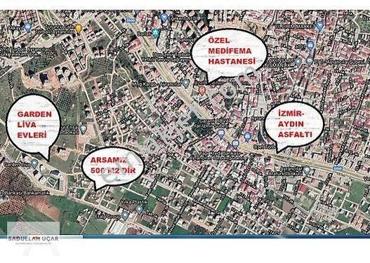 Torbalı Ayrancılar'da Şehrin Merkezinde Satılık 2B Arazisi