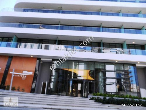 Platform Merter SATILIK 1+1 Residence Ofis Kat Bahçeli