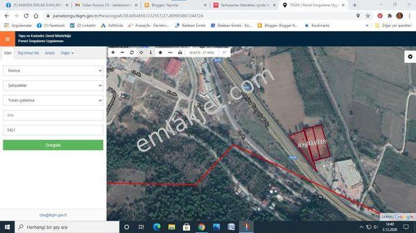 Manisa Turgutlu Çevre Yolu Satılık Tarla Otobana Cepheli