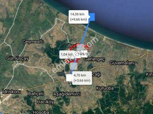 Çanakkale Biga Sığırcık köyünde 5143m2  tarla