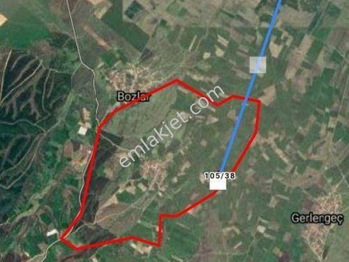 Çanakkale Biga Karacaali köyünde 6250 M2 tarla