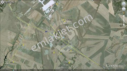 Çorlu Seymen Havaalanı Yol Ayrımında Satılık Tarla P.NO:4558