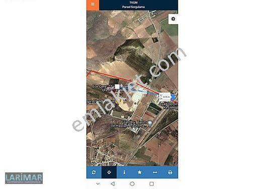 Hankendi de İŞGEM in arka tarafında 3.992 m2 Arsa