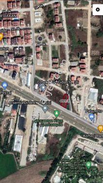 TİCARİ+KONUT 634 m2 ARSA KÖŞE PARSEL