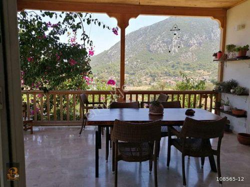 Antalya Adrasan Merkezde  Satılık  Bahçeli Ev....575 m2....