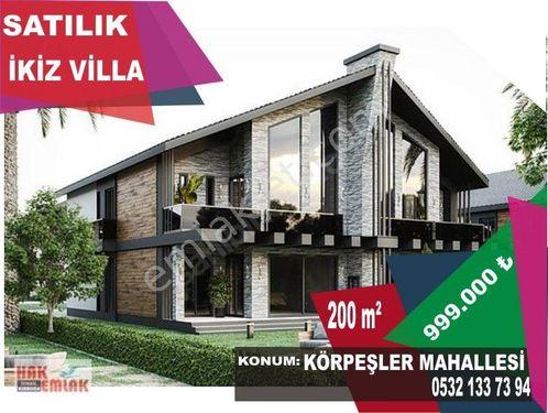 Hak Emlak'tan Körpeşler Mahallesinde Ultra Lüx 4+1 Satılık Villa
