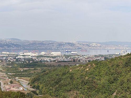 Gölcük İhsaniye'de Muhteşem Deniz Manzaralı Satılık Arazi