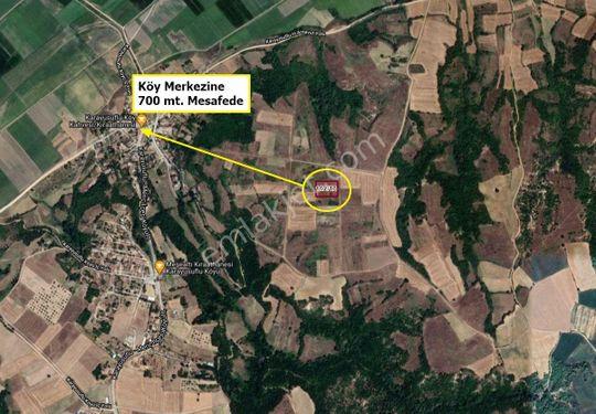 Edirne Meriç Kara Yusuflu Köyü 4.417 m2 Tarla