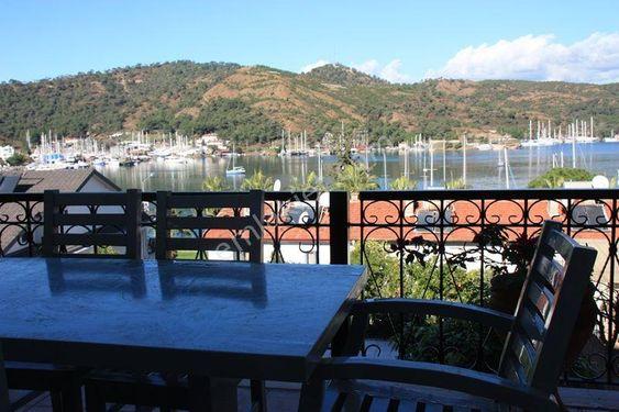 Fethiye Karagözlerde satılık deniz manzaralı manzaralı dubleks