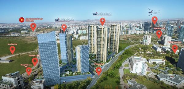 SÖĞÜTÖZÜ YDA|4+1 FOR RENT|ULTRA LUXURY|AWESOME VIEW|KİRALIK