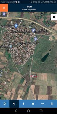 kızılcıkdere köyüne 100 metre