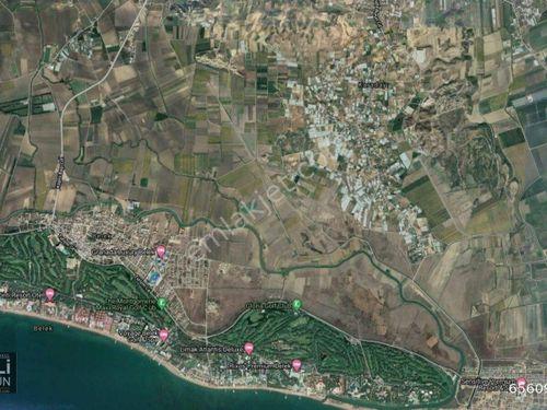 Antalya Serik Mevki Satılık Müstakil Tarla