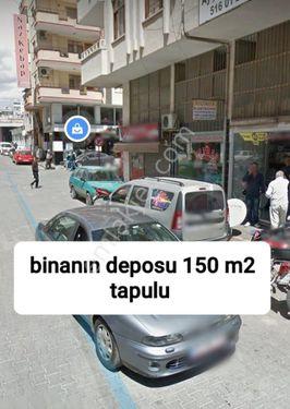 ERDEMLİ ÇARŞIDA 150 M² DEPO