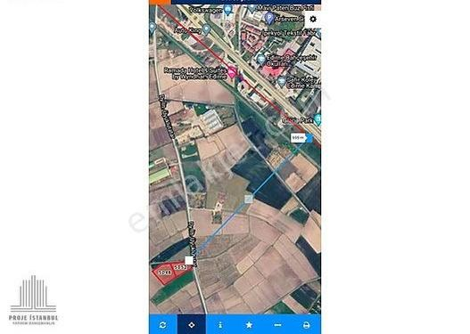 Yola Cephe, E5 e 700m, Müstakil Tapulu 8216m2 Arazi KOMİSYONSUZ!