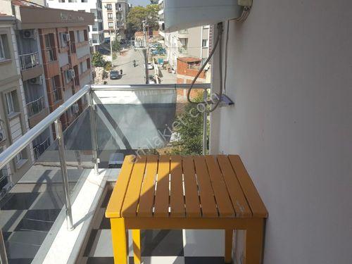 buca adatepe de satilik balkonlu esyali 1+1