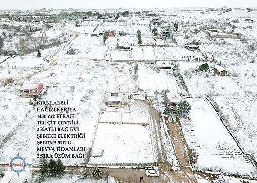 KIRKLARELİ KARDAK'TA 1450 m2 ARSA İÇİNDE 2 KATLI BAĞ EVİ