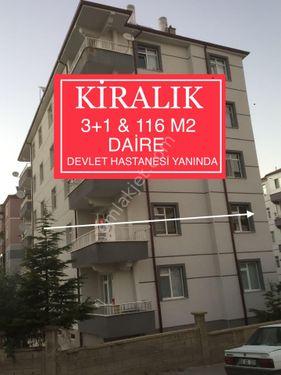 DEVLET HASTANESİ YANINDA 3+1 KİRALIK DAİRE& AKDAŞ GAYRİMENKULDE