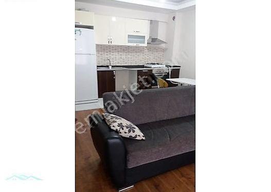 mimarsinan residencede kiralık eşyalı 1 +1 yapılı daire