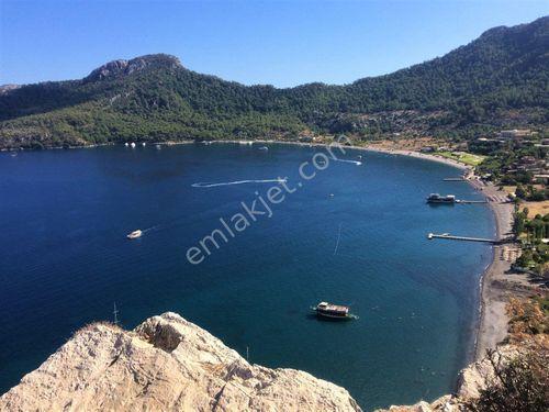 Marmaris Turunç ta satılık, deniz manzaralı 12.000 m2 tarla