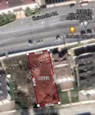 SAÜ KAMPÜS Yoluna Cepheli 850m2 Ticari + Konut İmarlı Arsa