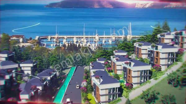 Sahibinden Bodrum da Full deniz manzaralı satılık 2 müstakil villa