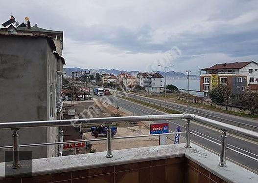 Karadeniz Sahil Yolunda Bolaman Mah. Güzergahında geniş daire