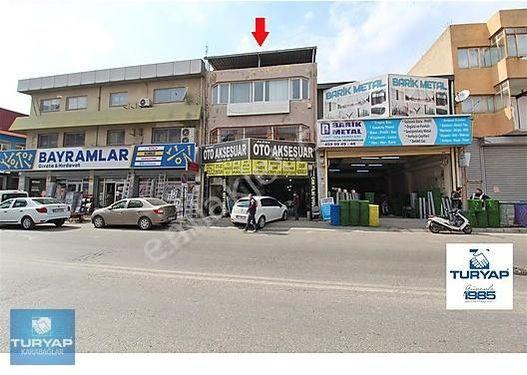 1. sanayi sitesinde işlek cadde üzeri satılık dükkan