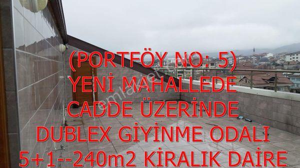 5-ŞEKER EMLAKTAN 5+1 240m2 SATILIK SIFIR DUBLEKS