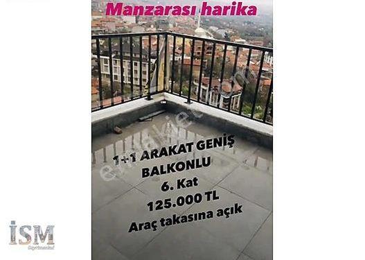 BAĞBAŞINDA 1+1 50 m2 BALKONLU ARAKAT SÜPER MANZARALI